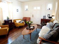 Liz Fabry's beautiful little house, via Flickr.
