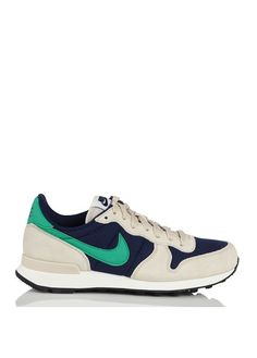 Nike Internationalist en cuir et toile  Bleu by NIKE