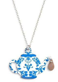 If You Tea-se Necklace | Mod Retro Vintage Necklaces | ModCloth.com - StyleSays