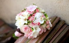 Photo gallery to get inspired! Pink Flowers, Beautiful Flowers, Photo Corners, Bridal Flowers, Wedding Bouquets, Photo Galleries, Floral Wreath, Wedding Day, Inspiration