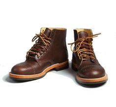 Yuketen Johnny Boots. Remember the Johnson Boot from last year? It was a big success and was one of the most popular models by Yuketen. The brogue detailing on the toe cap really made it a special …