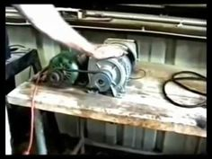 Generator 230 volts AC dragged by a dynamo of 24 volts DC. This is an experimental model to demonstrate the transformation of chemical energy to mechanical p. 3000 Watt Generator, Motor Generator, Diy Generator, Rv Solar Panels, All Galaxies, Energy Saver, Drill Press, Tecno, Alternative Energy