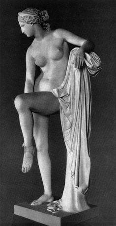Ivan Vitali | Venus. 1852. Marble. State Russian Museum. St. Petersburg, Russia.