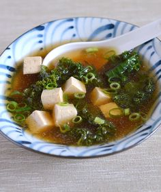 Miso Soup with Tofu and Kale | Appetite for China