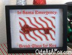 cute idea for Christmas decor:)
