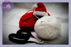 Come fare il cappello di Babbo Natale - 101 Cose Tutorial, Crochet, Home, Brunettes, Amigurumi, Christmas, Deco, Chrochet, Crocheting