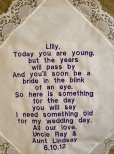 Text this before the ceremony <3 | Wedding Ideas! | Pinterest ...