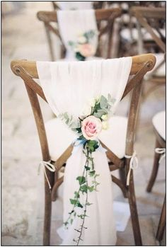 18 Bride and Groom Wedding Chair Decoration Ideas - New .- 18 Braut und Bräutigam Hochzeit Stuhl Dekoration Ideen – New Site 18 bride and groom wedding chair decoration ideas – # bride # groom # decoration # wedding # ideas - Wedding Groom, Chic Wedding, Wedding Reception, Our Wedding, Dream Wedding, Bride Groom, Ribbon Wedding, Perfect Wedding, Wedding Favors