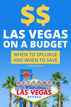 Travel Tips for Las Vegas on a Budget - Visiting Las Vegas on a budget is easy if you know when to splurge and when to save. Travel Deals, Budget Travel, Travel Usa, Travel Guides, Europe Budget, Vacation Deals, Kenya Travel, Texas Travel, Canada Travel
