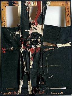 Pintor informalista,siniestro... sus cuadros de dejan completamente atrapada