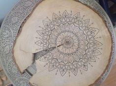 Pen drawing on wood. Henna, Spiritual, Drawings, Wood, Art, Mandalas, Art Background, Woodwind Instrument, Timber Wood