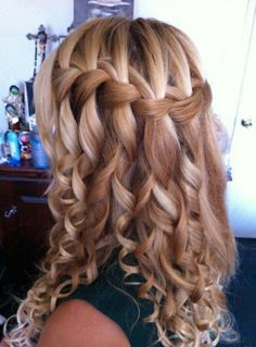 long hair styles for women, I love this