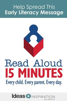 Reading aloud every day can have a big impact on a child'€™s future success. Join Read Aloud 15 MINUTES and share this literacy program with your community.