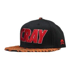 Cayler And Sons C AndS Cray Animal Print Snapback Tiger Print Snapback Cap in Black 6689