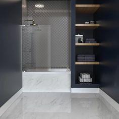 "Swiss Madison Voltaire 48"" x 32"" Drop In Soaking Bathtub & Reviews | Wayfair Drop In Bathtub, Soaking Bathtubs, White Acrylics, Shower Tub, Bathroom Medicine Cabinet, Tall Cabinet Storage, Home, Bathroom Ideas, Bathroom Interior"