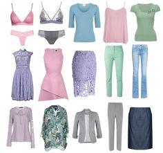 Soft Summer Color Palette, Summer Colors, Summer Wardrobe, Capsule Wardrobe, Color Me Beautiful, Summer Outfits, Summer Dresses, Zooey Deschanel, Dress Codes
