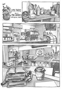 Urban Sketchers Seattle: steven reddy