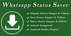 One should be perplexed if it comes to pick one app to save Whatsapp status. There are so many status saver apps that are developed each day and each day hundreds of status savers or WhatsApp status… Android Studio, Android Pc, Latest Android, Movement Pictures, Andriod Apps, All Status, Mobile App Templates, Medium App, Save Video
