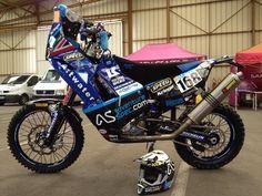 #KTM 450 RR #Dakar #Rally Bike