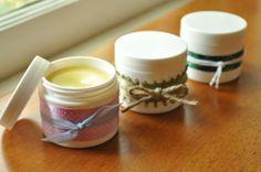 Lavender & Vanilla Belly Butter (shea butter, olive oil, coconut oil, beeswax, vanilla extract, lavender essential oil, vitamin E)