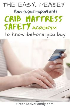 Shopping for a crib mattress and consumed by overwhelm? FIRMS is the baby crib mattress acronym you need to remember before you hit the buy button! Simplify your crib mattress shopping with FIRMS Mindful Parenting, Co Parenting, Baby Rolling Over, Baby Life Hacks, Baby Crib Mattress, Natural Baby, Kids Health, Baby Grows, Need To Know