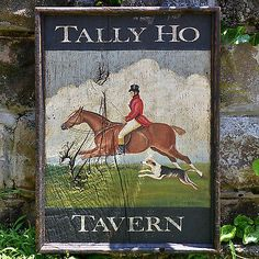 Antique Look  HAND PAINTED ART  Wood Trade Sign