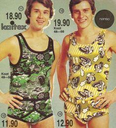 Bad Fashion, Fashion Fail, Mens Fashion, Fashion Trends, Retro Men, Fashion History, Vintage Ads, 1970s, Tank Man