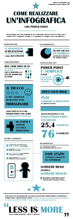 create an #infographic with #powerpoint | crea una #infografica con power point | #pinterest #easy #marketing #communication #advertising #web