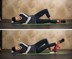 8 Hip-Strengthening Exercises Using the Versa Loop - 8) Lying Abductor Lifts