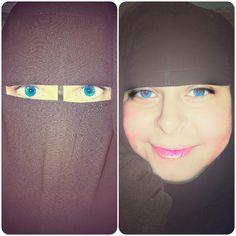 Arab Girls Hijab, Girl Hijab, Sequin Bodysuit, Hijab Niqab, Veil, Islamic, Women's Fashion, Eyes