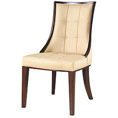 @Overstock - Add some elegant lines to your dining room with a set of two cream barrel dining chairs. These smooth, armless chairs will instantly add style to your dining experience with their solid wood frame and luxuriously soft leather upholstery.http://www.overstock.com/Home-Garden/Barrel-Dining-Chairs-Set-of-2/3871034/product.html?CID=214117 $396.39