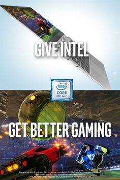 Give a new computer powered by the 8th Gen Intel® Core™ and they'll ditch lag w/ up to 2.8X faster 3D graphics.