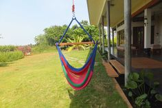 Simple yet colorful and comfortable, the rope swing is a perennial favourite! Get one today: http://goo.gl/fVMoLk