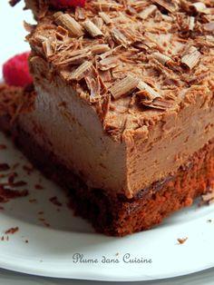 Gâteau chocolat mousse (2)