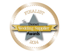 Cloverleaf Chair Covers are one of the 2014 venue stylist finalists for the Dorset Wedding Supplier Awards.