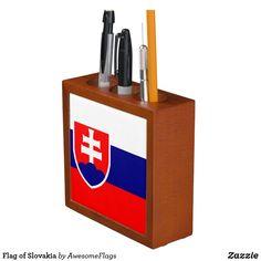 Flag of Slovakia Desk Organization, Flag, Home Decor, Decoration Home, Room Decor, Science, Home Interior Design, Flags, Home Decoration