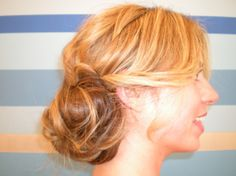 DIY Wedding Hair: A Quickie Updo (Perfect For Bridesmaids, Too!): Save the Date