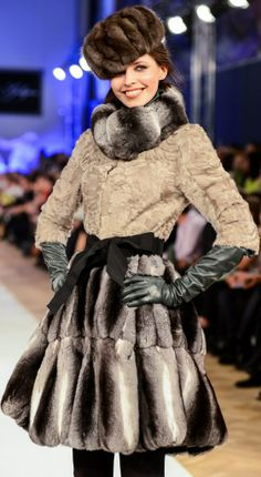 Russian style by Igor Gulyaev, a fashion designer from Moscow.