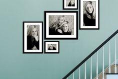 Wonderful Stairway Gallery kWall Idea 13