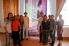 Cast and Crew of Heathens & Thieves — with Greg Ptacek at The Hayworth Theater Mainstage.