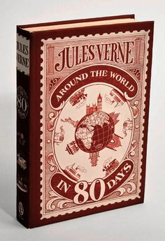 Around the world in 80 days - Jules Vernes - Book Originally Written in Another Language (French)