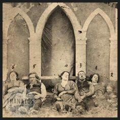 c.1870 Flash flood victims - France.
