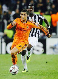 Pogba in de champions league ze zijn uit eindelijk 2e geworden.