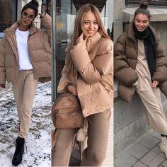 Hm Outfits, Winter Fashion Outfits, Winter Wardrobe, My Wardrobe, Winter Trends, Winter Looks, Puffer Jackets, Fashion 2020, Fitness Fashion