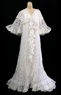 Edwardian peignoir