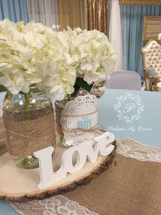 Burlap Baby Shower Baby Shower Party Ideas