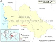 Where is Ashgabat