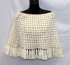 shopgoodwill.com: Burberry Silk/Mohair White Shawl