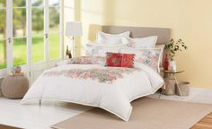 Esme Queen Quilt Cover by Cotton House