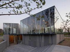 Architect: Atelier Deshaus (Liu Yichun / Chen Yifeng)  Location: Tianzhu Rd, Jiading New Town, Shanghai, China